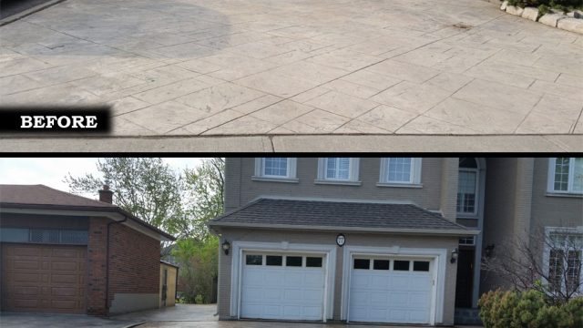 Stamped Concrete Sealing