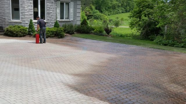 Interlock Power Wash & Sealing
