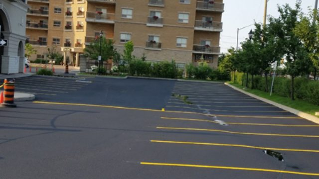 Parking lot Seal Coating & line Painting